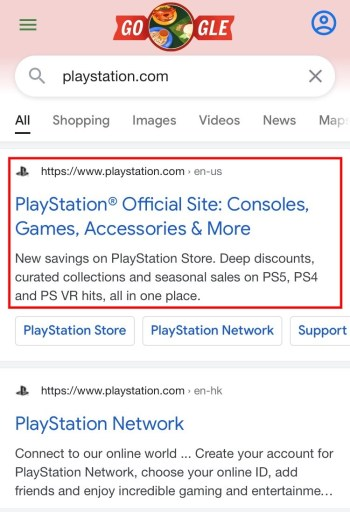PlayStation official site