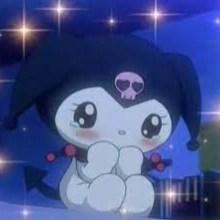 Kuromi Hello Kitty aesthetic