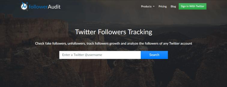 Twitter Fake Follower Audit