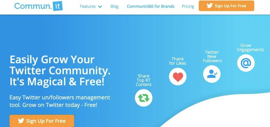 track followers with Commum.it