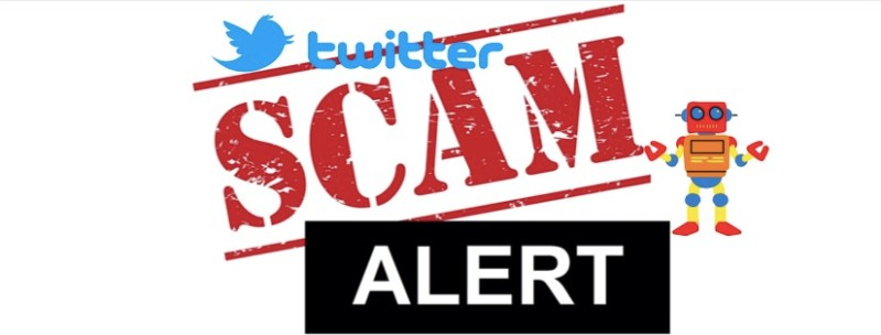 Twitter bot and fake followers scams