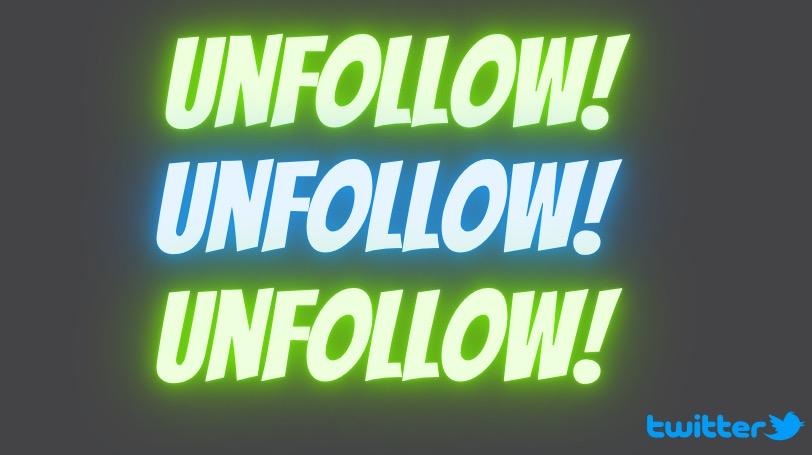who unfollowed me on Twitter- clean Timeline