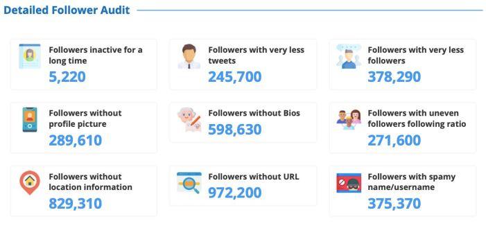 FollowerAudit: audience insights