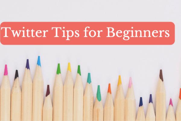 Twitter tips for beginners blog banner