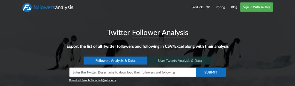 FollowersAnalysis: The Best FollowerWonk Alternative