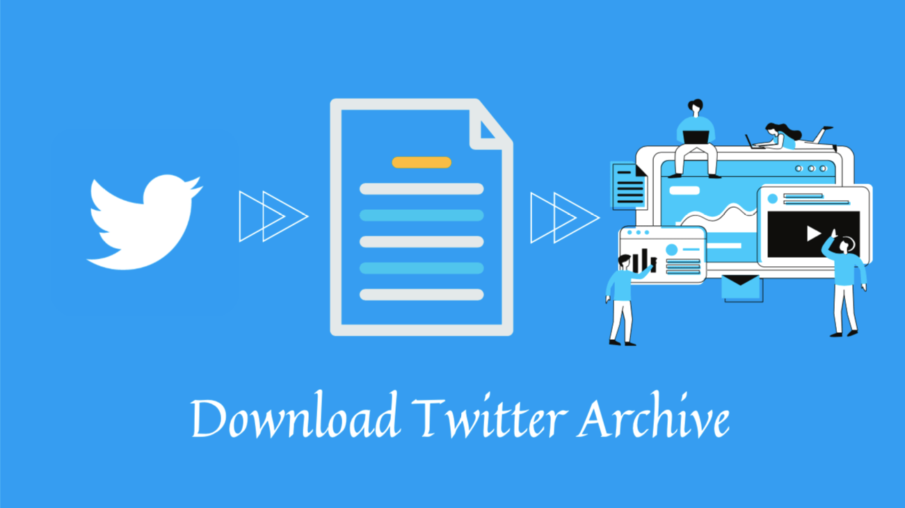 how to download Twitter archive blog banner