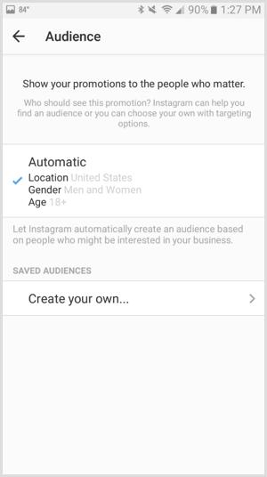 11 memilih audience untuk iklan instagram