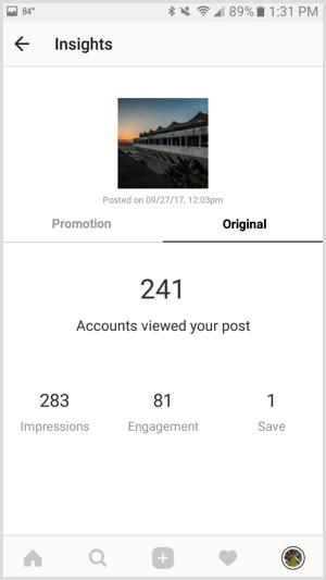 18 post insight instagram