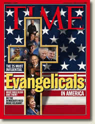 Time magazine cover story on Evangelicals