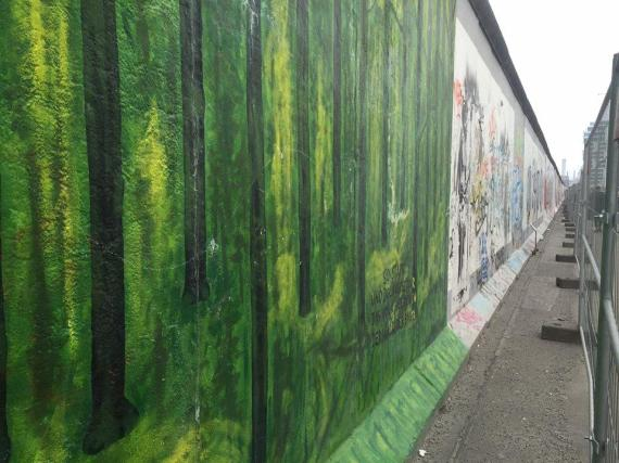 Berlin Wall long shot