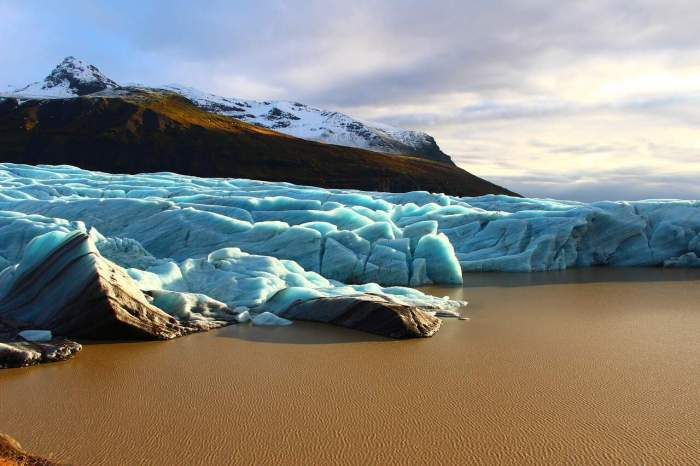Visit Svínafellsjökull Glacier during your 5 day Iceland itinerary | how to spend 5 days in Iceland
