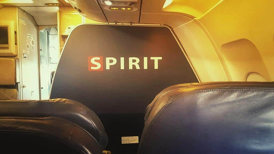 What it 39 s really like flying spirit airlines from tpa to for Book a flight with spirit airlines