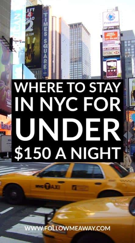 Budget Hotels Near Times Square New York