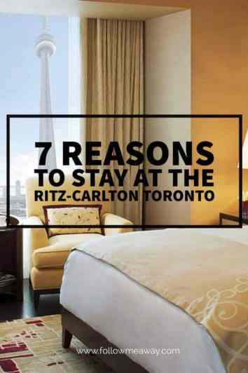 7 Reasons To Stay At The Ritz-Carlton Toronto For Your Next Getaway | Luxury Hotel Rooms | What To Do In Toronto | Where To Stay In Toronto | Ritz-Carlton Toronto Hotel Review | Toronto Travel Tips | Best Luxury Hotels | Luxury Travel Tips | Follow Me Away Travel