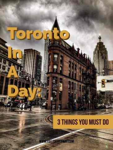 Toronto In A Day: 3 Things You Must Do | Top Things to Do In Toronto | Toronto One Day Itinerary | What To Do In Toronto | Best Places To Eat In Toronto | Free Things To Do In Toronto | Follow Me Away Travel Blog