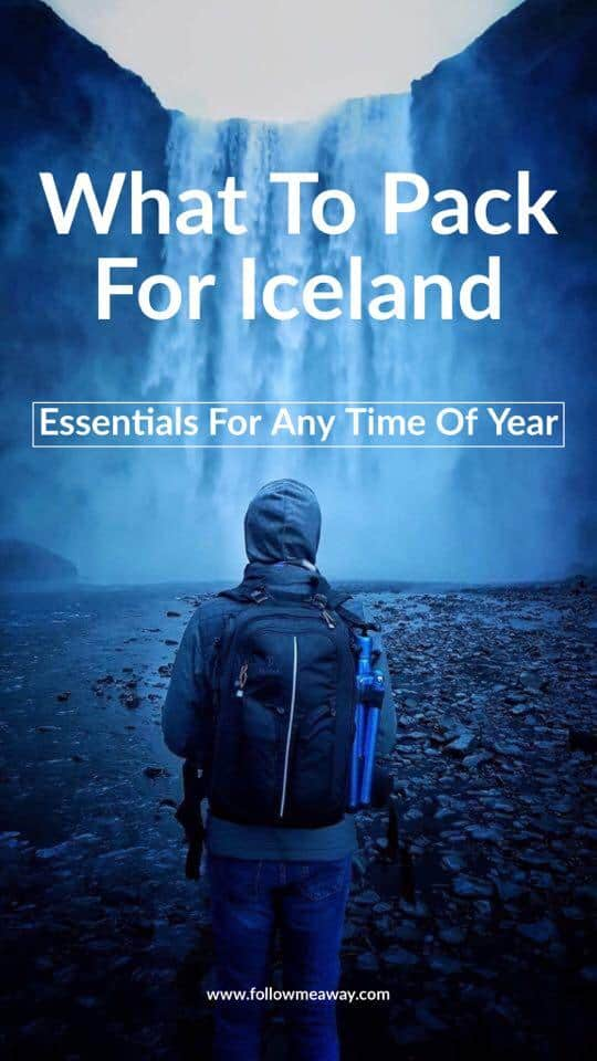 The Ultimate Iceland Packing List | What To Pack For A Trip To Iceland | Top Things To Bring To Iceland | What Clothes To Wear In Iceland | Best Iceland Packing Guide | Iceland Travel Tips | Tips for planning a trip to iceland