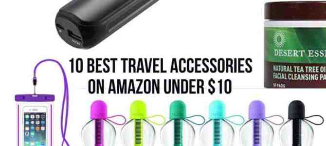 10 Of The Best Travel Accessories Under $10 You Can Buy On Amazon