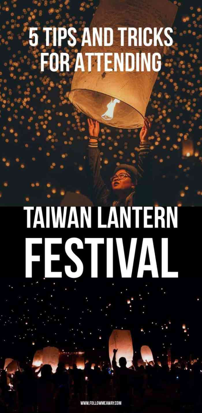 5 Things To Know About The Taiwan Lantern Festival 2018   Lantern Festival Tips   Chinese Lanterns   Floating Lanterns   where to see floating lanterns   Taiwan travel tips   taiwan travel   what to do in Taiwan   best things to do in taiwan   where to see floating lanterns