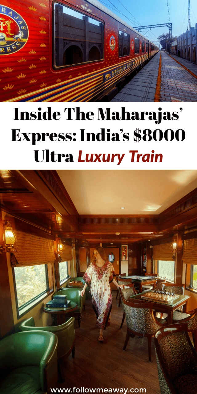 15 Things To Know Before Taking The Maharaja Express Train | Trains In india | how to ride trains in india | luxury trains in india | luxury travel to india | india travel tips | india luxury train travel | luxury train travel | best luxury travel in the world