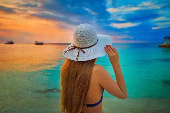 Sunset in Montego Bay Jamaica at Sandals Montego Bay