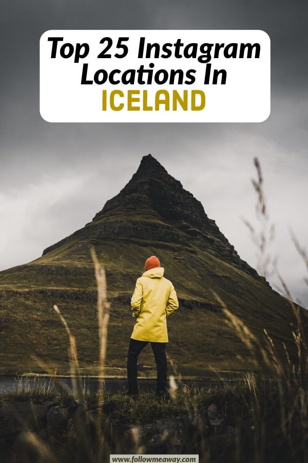 If you are looking for the best Instagram photography locations in Iceland, this list is for you! From Glacier Lagoons To Lava Fields, there are so many Instagram locations in Iceland for Iceland photography! These top Iceland photography locations will help you slay on Instagram! #iceland #instagram #photography