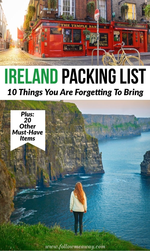 Ireland Packing List | 10 Things You Are Forgetting to Bring