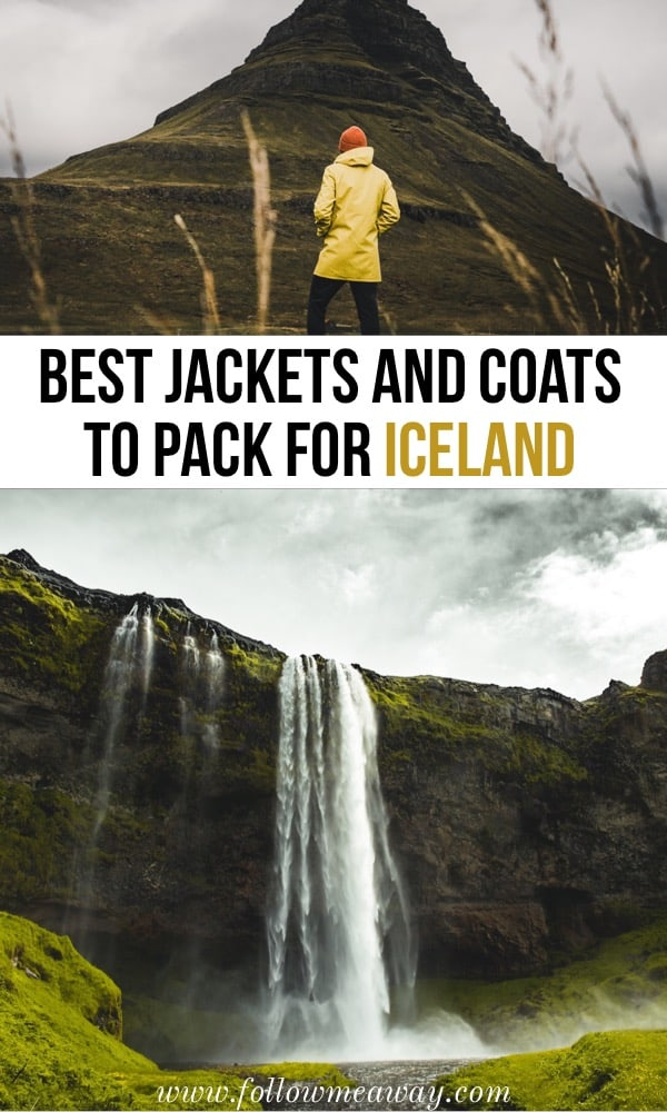 Best Jackets And Coats To Pack For Iceland | Iceland packing list | what to wear in iceland | best clothes for iceland | coats for iceland | jackets for iceland | packing list for iceland | yellow jacket for iceland