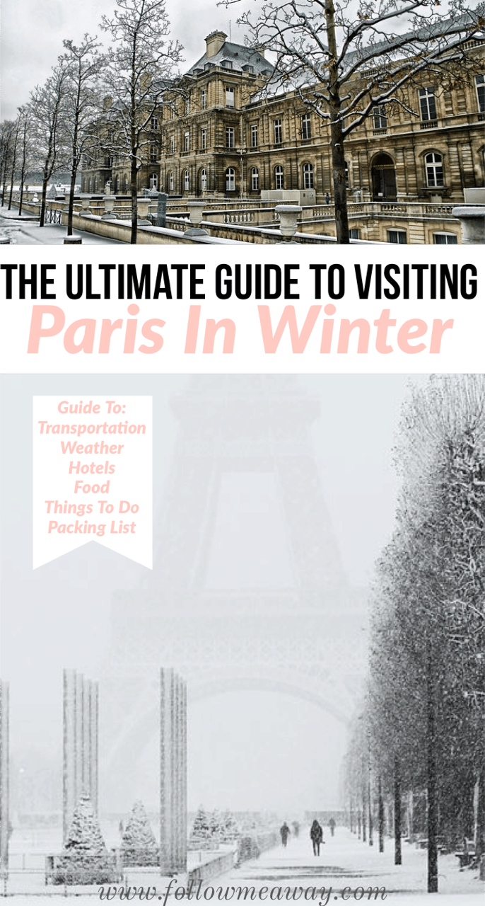 The Ultimate Guide To Visiting Paris In Winter | Tips for winter in Paris | the best guide to paris during the winter | paris itinerary guide | guide to paris in winter #paris #wintertravel #paristravel #eiffeltower #france