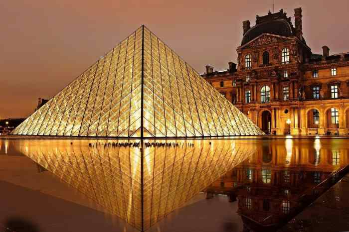 visit the louvre during winter in paris