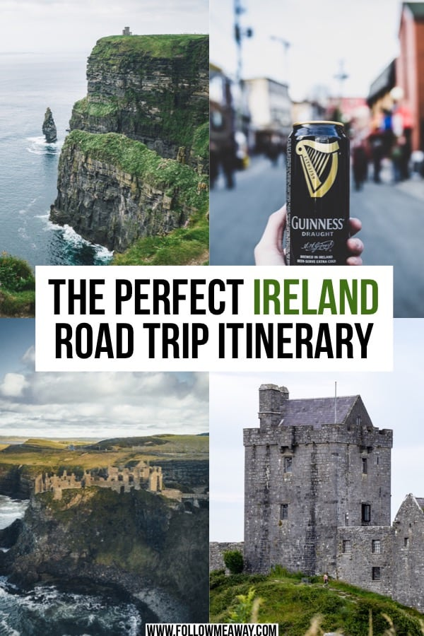 The Perfect Ireland Road Trip Itinerary You Should Steal | Ireland planning tips | Ireland road trip route | How to plan your Ireland itinerary | things to do in Ireland | travel tips for Ireland