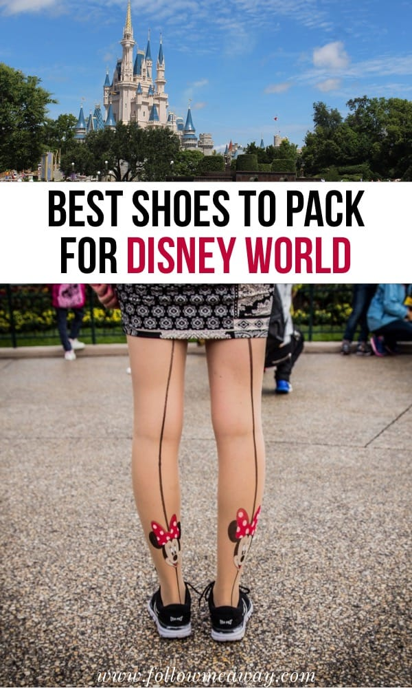 Best Shoes To Pack For Disney World | Disney Packing List | Shoes for Disney | what to wear at disney world | disney world packing list | packing for a disney trip #disney #packing #florida