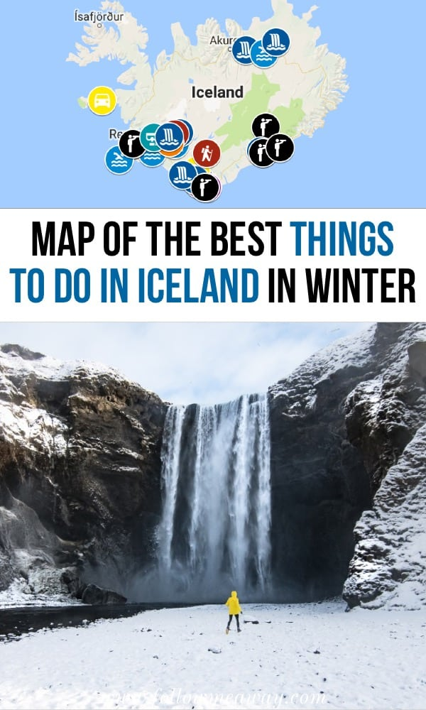 Map of the best things to do in iceland | what to do in iceland | top things to do in iceland | map of iceland | what to do in Iceland in winter | winter in iceland top things to do | best things to do on your first trip to iceland #iceland