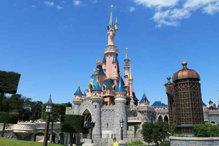 Disneyland paris is one of the Best Day Trips From Paris