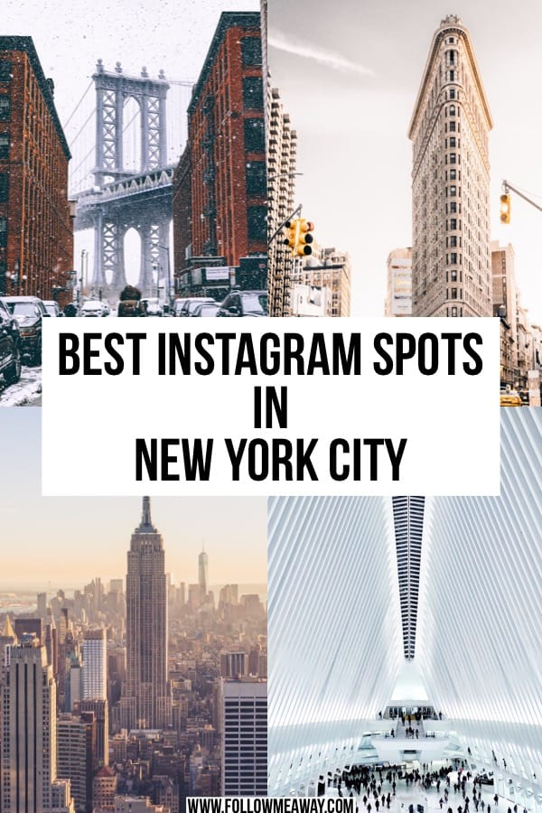 Best NYC Photography Locations And Where To Find Them | Best Instagram locations in New York city | Instagram locations in NYC | best places for instagram in New York City | top instagram locations in New York City | best spots for photography in NYC for Instagram