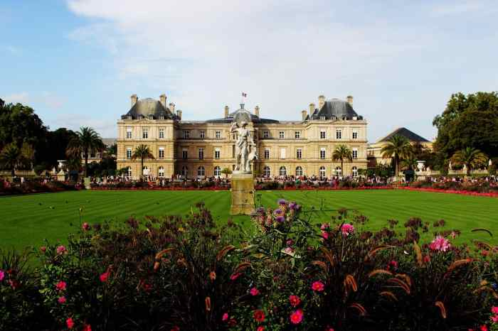 paris itinerary luxembourg gardens