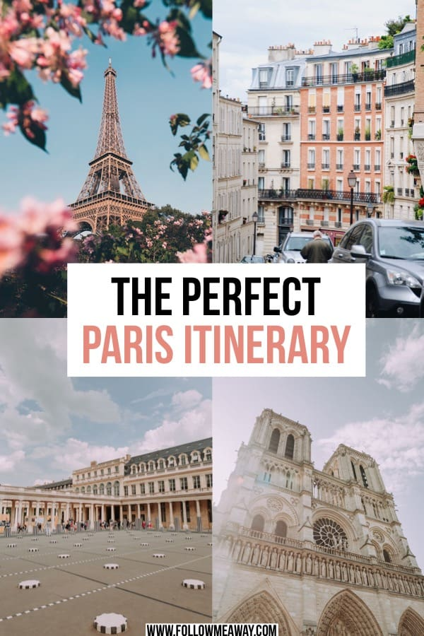 10 Stops To Include On The Perfect Paris Itinerary | how to plan your trip to paris | paris itinerary for first timers | things to do in paris | what to do in paris | paris travel tips | 3 days in paris itinerary | 4 days in paris itinerary