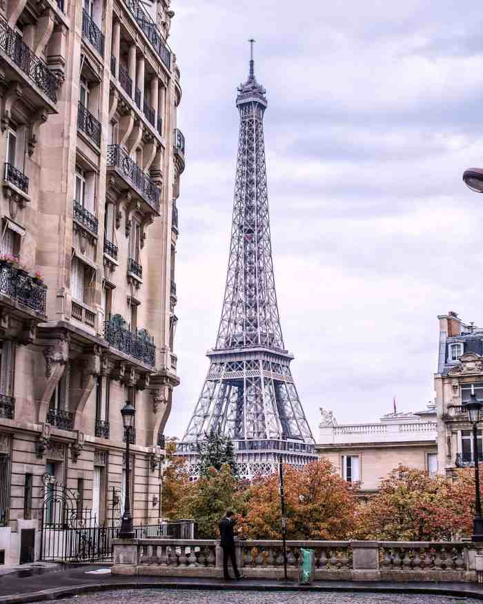 Paris photography locations of the eiffel tower