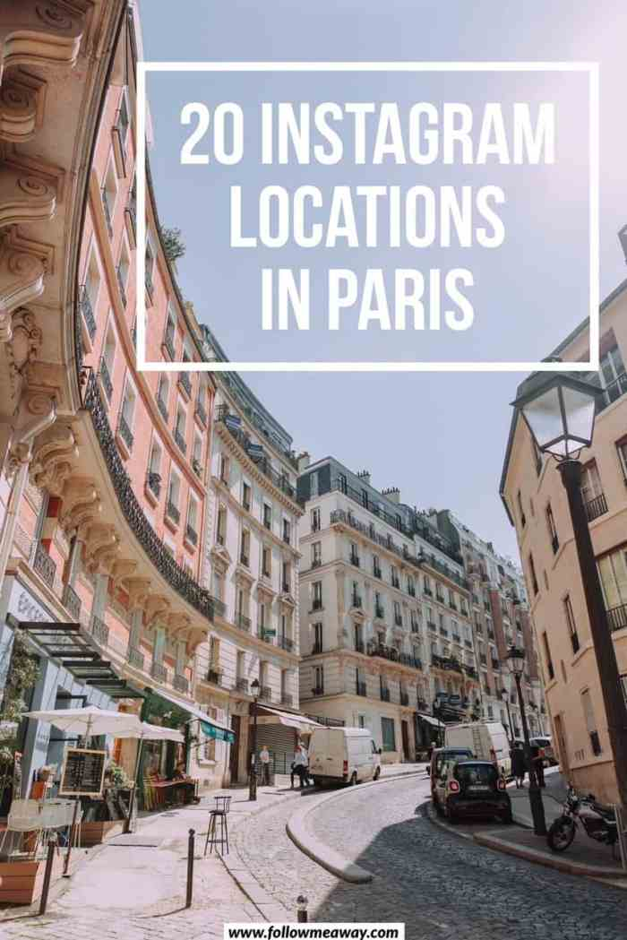 20 Instagram locations in Paris you must see | Best Paris instagram spots | where to take photos in Paris | paris travel tips | photography in Paris | instagram paris tips