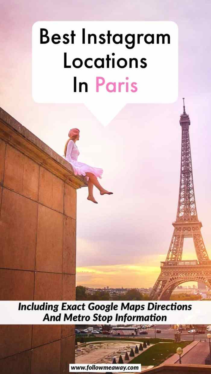 Best Instagram Locations In Paris | 20 Perfect Paris Photography Locations And Where To Find Them | Paris Photography spots for Instagram | hidden gems in Paris | Eiffel Tower in Paris | Paris travel tips | best things to do in Paris for Instagram