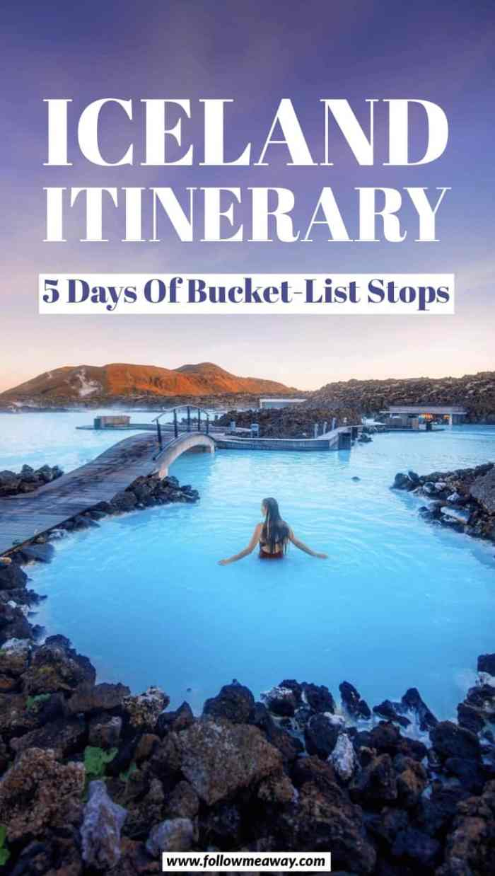 The Ultimate 5 Days In Iceland Road Trip Itinerary | Iceland travel tips | Iceland itinerary in 5 days | Iceland bucket list | Iceland road trip route | 5 day Iceland itinerary | top things to do in Iceland #iceland #bluelagoon