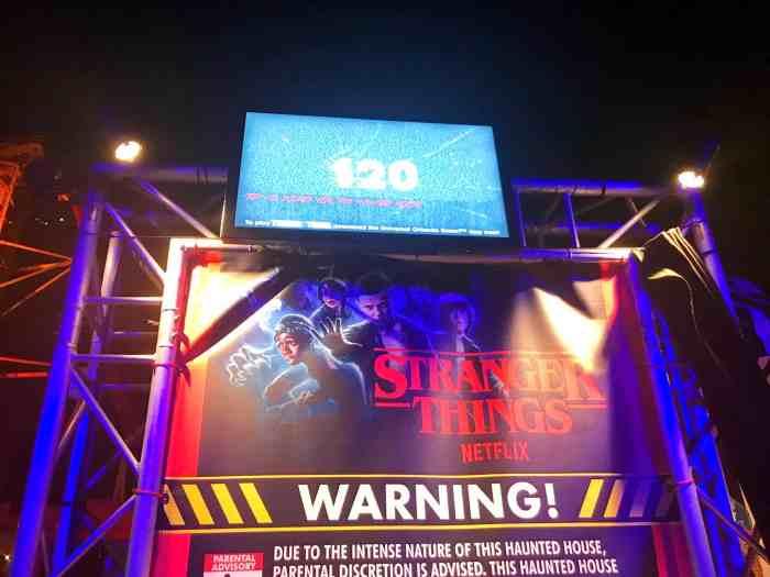 Stranger Things At Halloween Horror Nights Orlando 2018