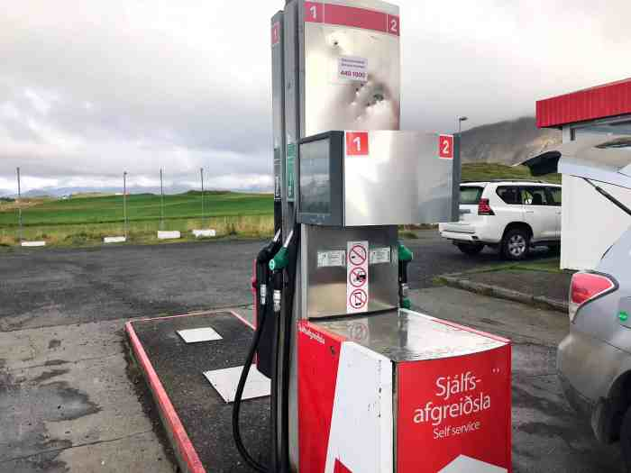 Ok Google Gas Station Near Me >> 5 Things To Know About Gas Stations In Iceland Follow Me Away