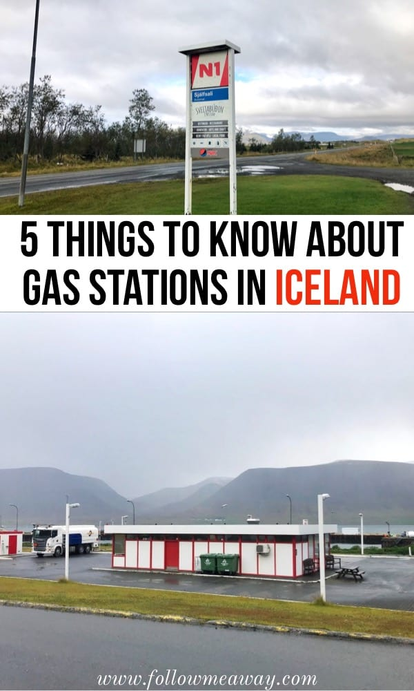 5 Things To Know About Gas Stations In Iceland - Follow Me Away on iceland travel map, canada vegetation regions map, natural gas refueling stations map,