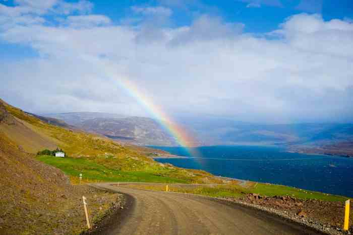 Driving in Westfjords Iceland is so beautiful but time consuming