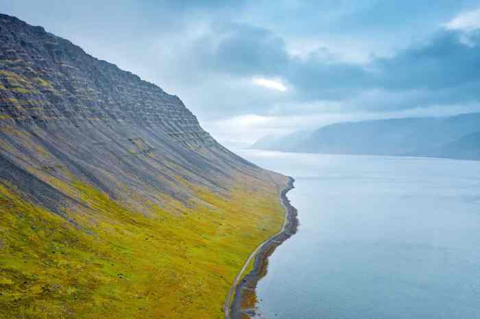 Westfjords Iceland driving is beautiful but you must be careful