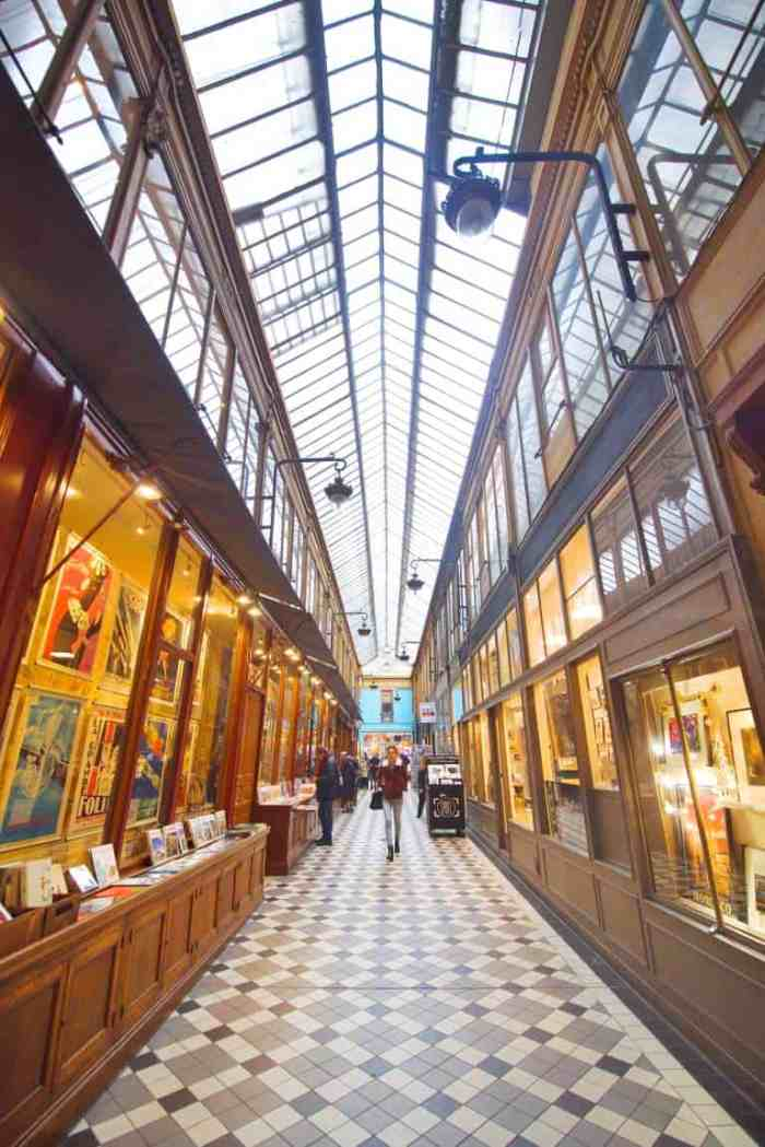 10 Best Covered Passages In Paris + Map To Find Them