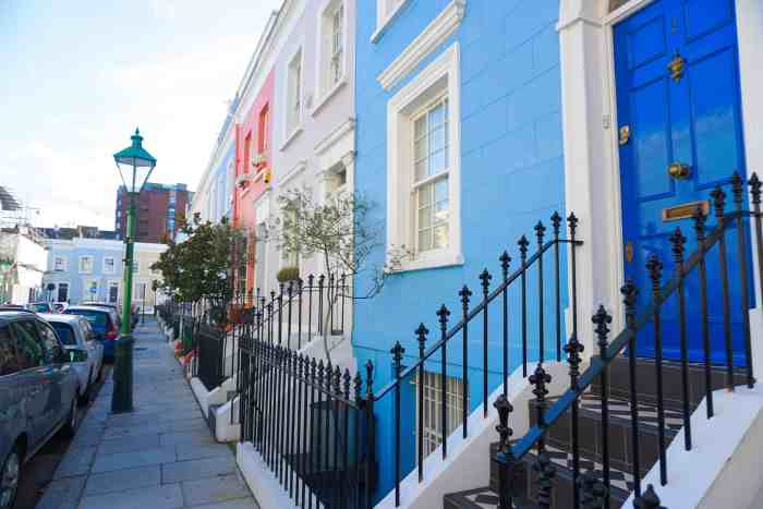 Farm Place is one of the prettiest streets in London