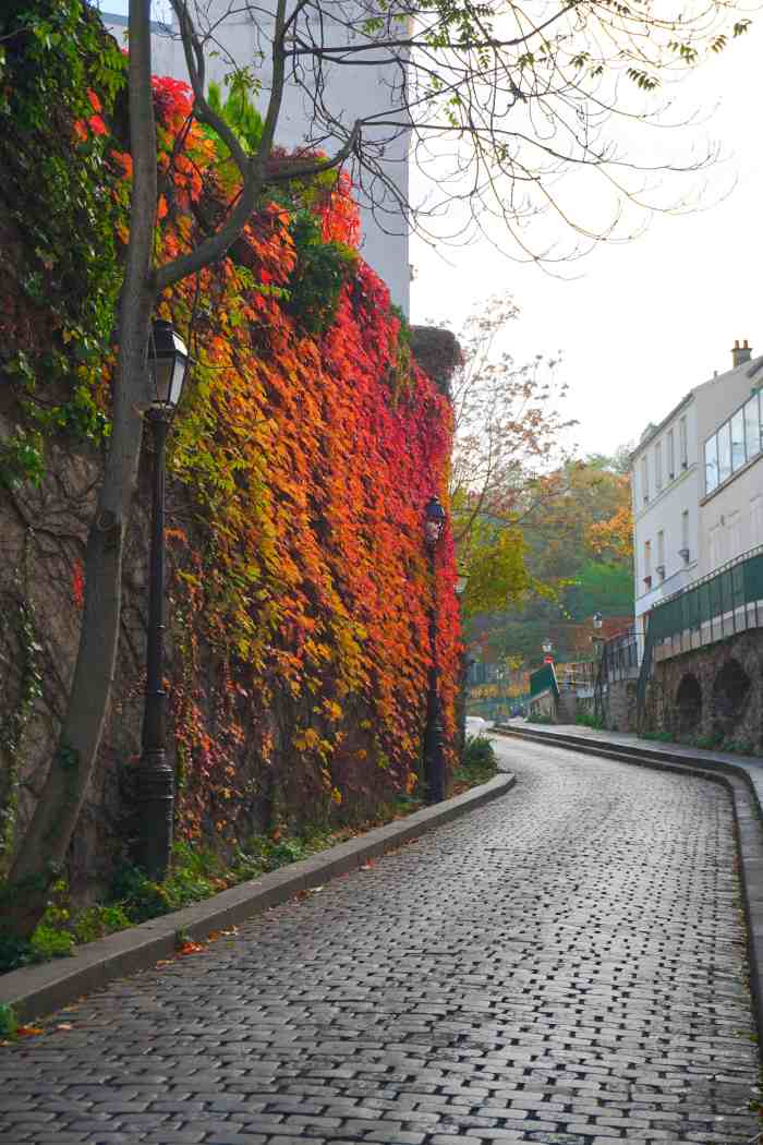 Rue Saint-Vincent is the best Paris street for beautiful views | cute streets in Paris | best paris photos