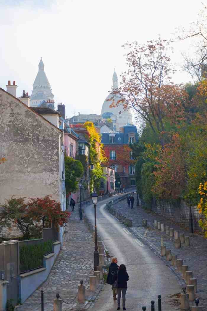 Rue de l'Abreuvoir is one of the top 10 prettiest streets in Paris