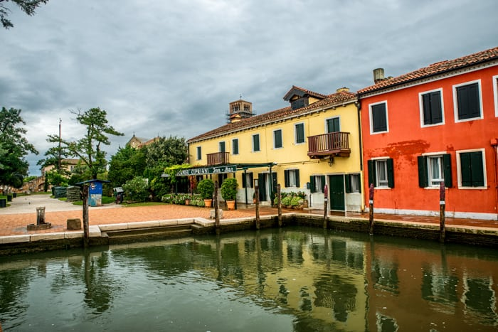 Torcello is a beautiful Italian Island off the coast of Venice